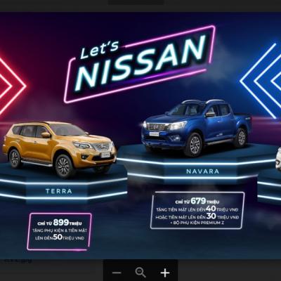 Nissan ưu đãi trong tháng 03/2020