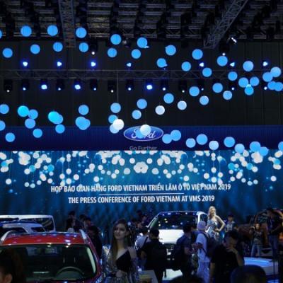 Ford Việt Nam Trưng Bày Phổ Sản Phẩm Phong Phú Các Dòng Xe SUV Và Thương Mại Tại Triển Lãm Ô Tô Việt Nam 2019