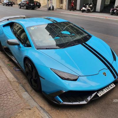 Siêu phẩm Lamborghini Huracan của tay chơi Sài Thành bất ngờ thay áo mới