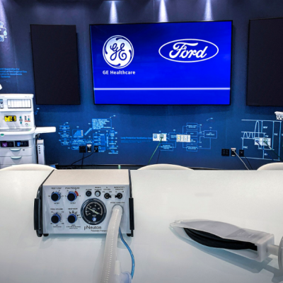 Ford Hợp Tác Với GE Healthcare