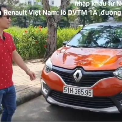 Renault Kaptur 2020 sành điệu và an toàn