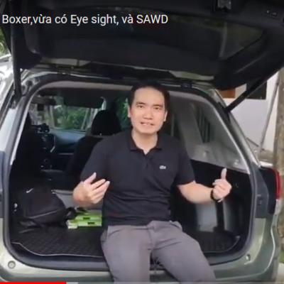 Video Review :Subaru Forester eyesigh giá 1,1 tỷ có nên tậu không?