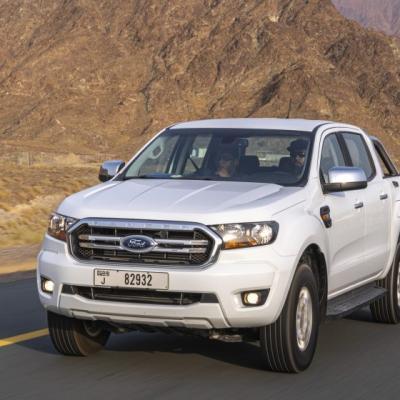 Ford Everest mạnh mẽ chống trọi với thời tiết