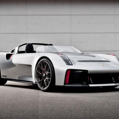 Chi tiết mẫu xe ý tưởng Porsche Vision Spyder