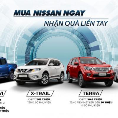 Nissan Ưu đãi tháng 9/2020